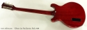 Gibson Les Paul Junior Cherry Red 1959 full rear view