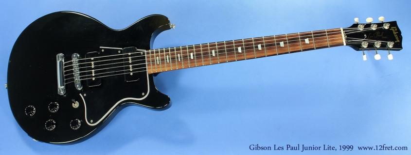 Gibson Les Paul Junior Lite DC 1999 full front