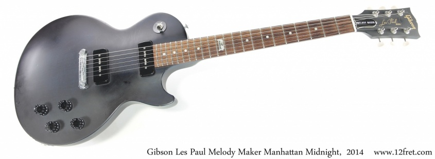 Gibson Les Paul Melody Maker Manhattan Midnight,  2014 Full Front View