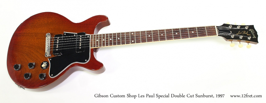 Gibson Custom Shop Les Paul Special Double Cut Sunburst, 1997 Full Front View