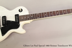 Gibson Les Paul Special 1960 Reissue Translucent White, 2004  Full Front View