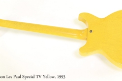 Gibson Les Paul Special TV Yellow, 1993 Full Rear View