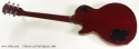 Gibson Les Paul Special Wine Red 1991 full rear view