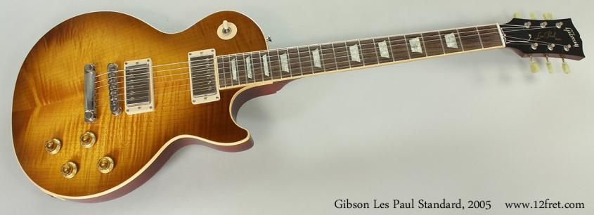 Gibson Les Paul Standard, 2005 Full Front View