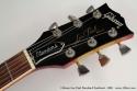 Gibson Les Paul Standard Sunburst 1980 head front