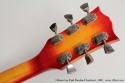 Gibson Les Paul Standard Sunburst 1980 head rear