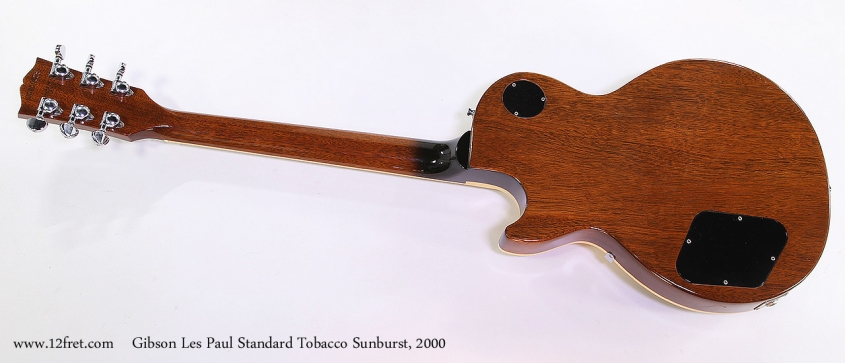 Gibson Les Paul Standard Tobacco Sunburst, 2000 Full Rear View