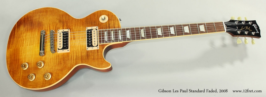 Gibson Les Paul Standard Faded, 2008 Full Front View
