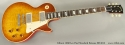 Gibson 1958 Les Paul Standard Reissue R8 2012 full front view