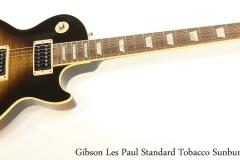 Gibson Les Paul Standard Tobacco Sunburst, 2007   Full Front View