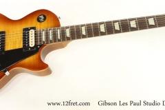 Gibson Les Paul Studio Deluxe II Honeyburst, 2013   Full Front View