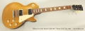 Gibson Les Paul Studio Faded 50's Tribute Gold Top, 2011 Full Front View