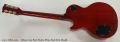 Gibson Les Paul Studio Wine Red 2013 Model Full Rear View