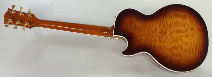 Gibson Les Paul Supreme Desert Burst, 2011 Full Rear View