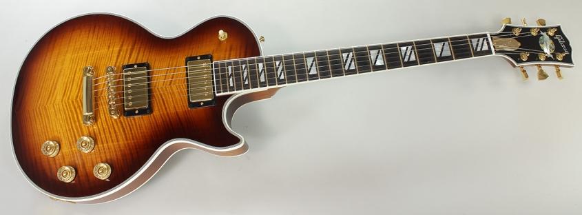 Gibson Les Paul Supreme Desert Burst, 2011 Full Front View