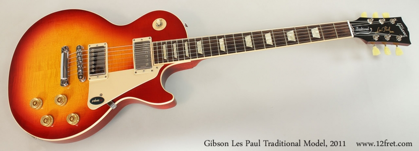 Gibson Les Paul Traditional Model, 2011 Full Front View