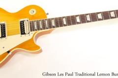 Gibson Les Paul Traditional Lemon Burst, 2016   Full Front View