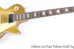 Gibson Les Paul Tribute Gold Top, 2018 Full Front View