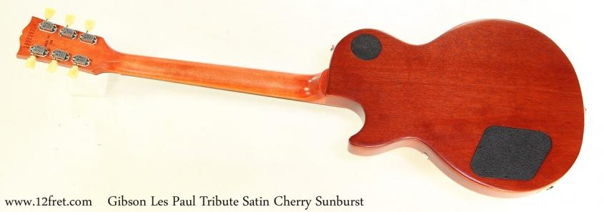 Gibson Les Paul Tribute Satin Cherry Sunburst Full Rear View