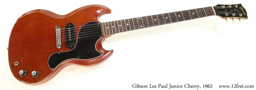 Gibson Les Paul Junior Cherry, 1962 Full Front View