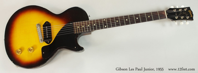 Gibson Les Paul Junior, 1955 Full Front View