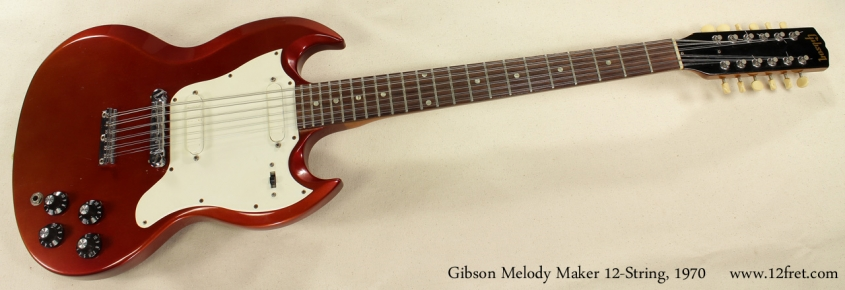 Gibson Melody Maker 12-String 1970 full front