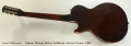 Gibson Melody Maker Solidbody Electric Guitar, 1960 Full Rear View