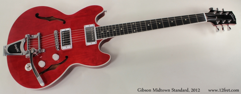 Gibson Midtown Standard with Bigsby 2012 full front view