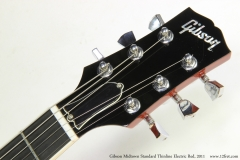 Gibson Midtown Standard Thinline Electric Red, 2011   Head Front View