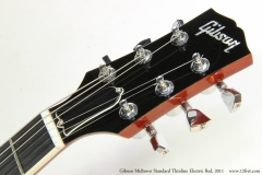 Gibson Midtown Standard Thinline Electric Red, 2011   Head View 1