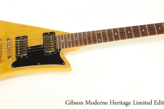 Gibson Moderne Heritage Limited Edition, 1982 Full Front View