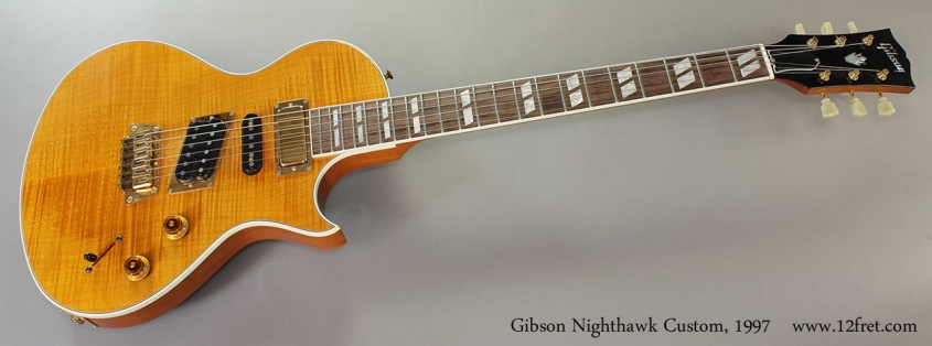 Gibson Nighthawk Custom, 1997 Full Front View