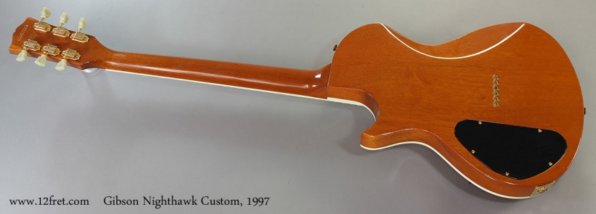Gibson Nighthawk Custom, 1997 Full Rear View