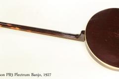 Gibson PB3 Plectrum Banjo, 1927   Full Rear View