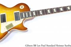 Gibson R8 Les Paul Standard Reissue Sunburst, 2014 Full Front View