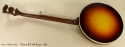 Gibson RB-100 Banjo 1965 full rear view