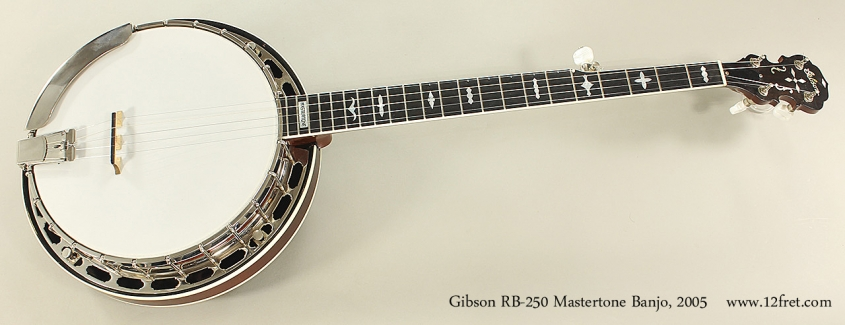 Gibson RB-250 Mastertone Banjo, 2005 Full Front View