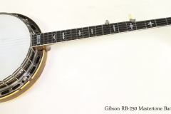 Gibson RB-250 Mastertone Banjo, 1968  Full Front VIew