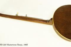 Gibson RB-250 Mastertone Banjo, 1968 Full Rear View