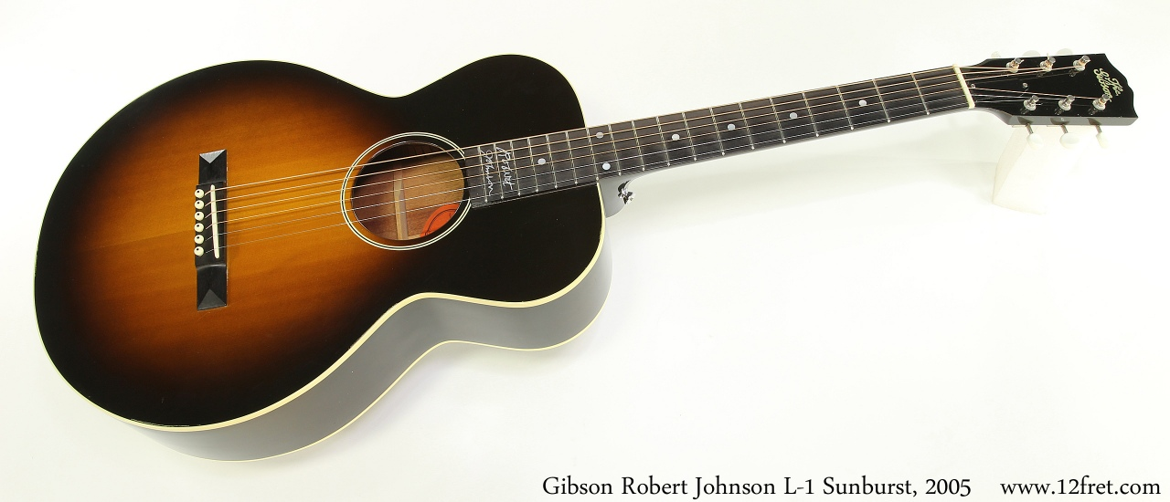 Gibson Robert Johnson L-1 Sunburst, 2005 Full Front View