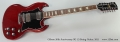 Gibson 50th Anniversary SG 12-String Guitar, 2011 Full Front View