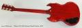 Gibson SG 1961 Reissue Model Guitar, 2012 Full Rear View