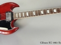 Gibson SG 1961 Reissue, 2004 Full Front View