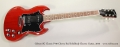 Gibson SG Classic P-90 Cherry Red Solidbody Electric Guitar, 2010 Full Front View