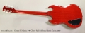 Gibson SG Classic P-90 Cherry Red Solidbody Electric Guitar, 2010 Full Rear View