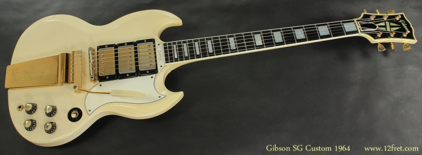Gibson SG Custom 1964 full front view