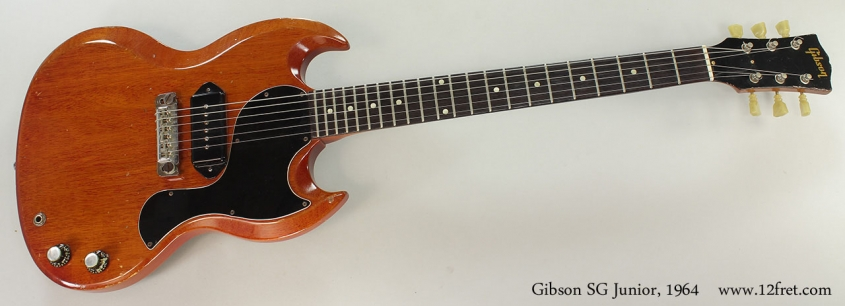 Gibson SG Junior, 1964 Full Front VIew