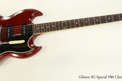 Gibson SG Special P90 Cherry, 1966 Full Front View
