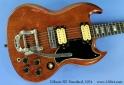 Gibson SG Standard 1974  top