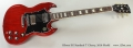 Gibson SG Standard T Cherry, 2016 Model Full Front VIew